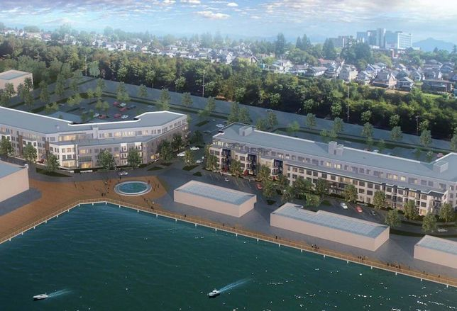 80% Of Available Everett Waterfront Apartments Already Reserved