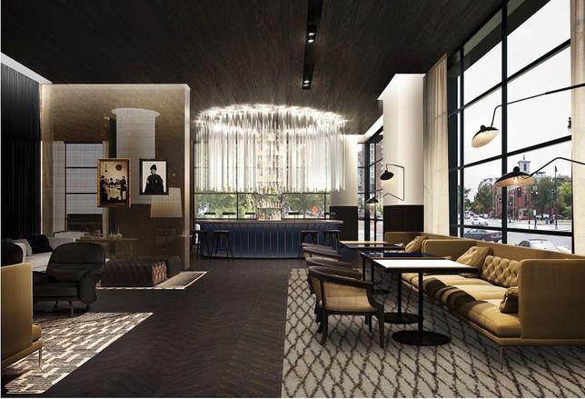 SLS Hotel interior