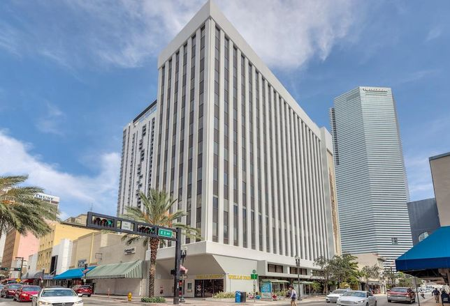100 East Flagler in downtown Miami