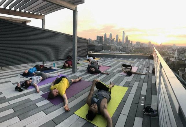 TFLiving Yoga Class
