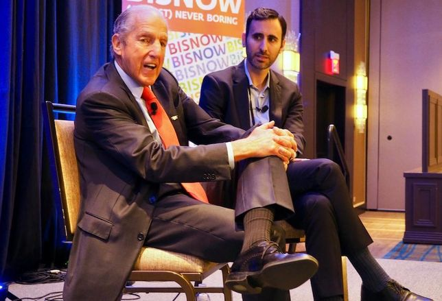 Cordish Cos. CEO David Cordish and Streetsense's Adam Williamowsky