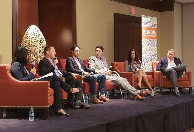 Compass Realtor Tracy Do, Bond Cos. Chairman Larry Bond, Cypress Equity Investments VP of Acquisitions Adrian Berger, Laterra Development Managing Director Acquisitions & Capital Markets Chris Tourtellotte, three6ixty Managing Partner Dana Sayles and Lion Real Estate Group Co-Founder Jeff Weller