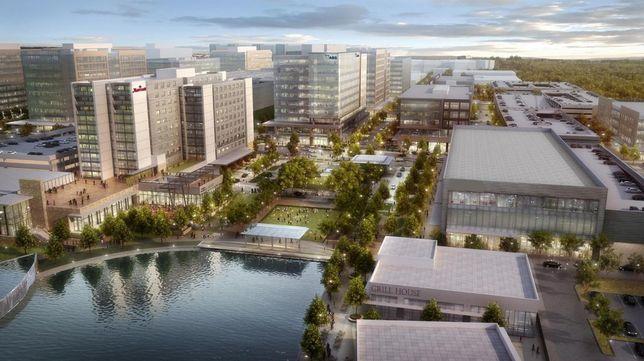Meet The Next Springwoods Campus: 568K SF For Hewlett Packard Enterprise