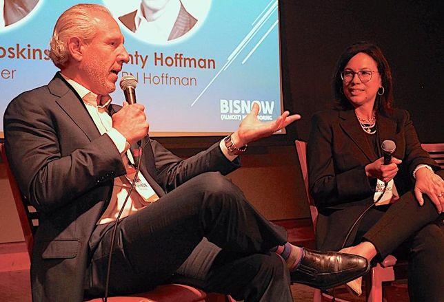 PN Hoffman CEO Monty Hoffman and Gensler co-CEO Diane Hoskins