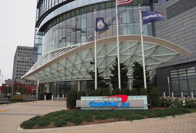 Capital One HQ entrance