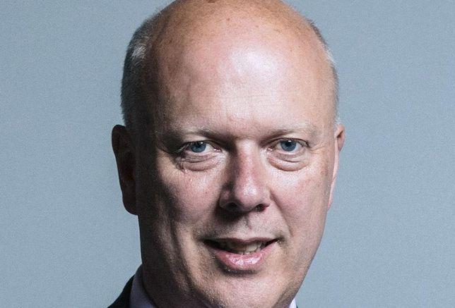 Chris Grayling secretary of state for transport November 2018