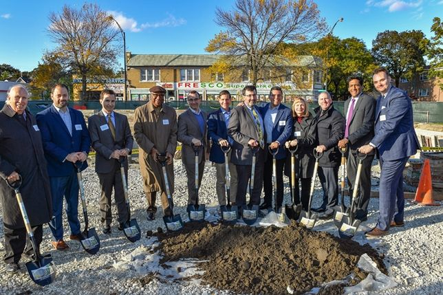 Oso Apartments Groundbreaking