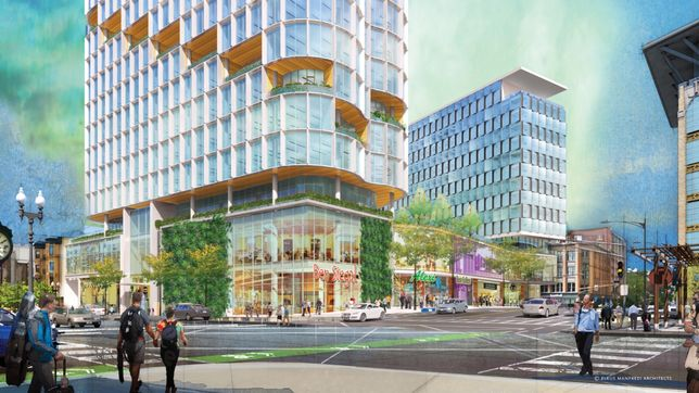 Samuels & Associates Plans Two-Tower Back Bay Air Rights Project
