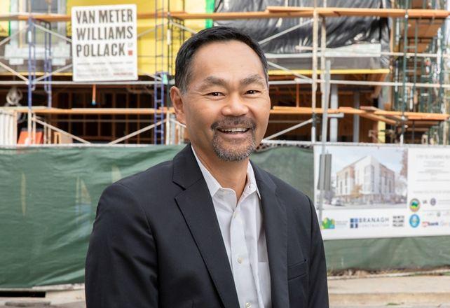 Palo Alto Housing President and CEO Randy Tsuda