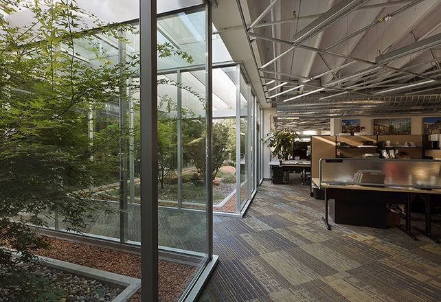 The Nexus Design Center in Salt Lake City is LEED Platinum.