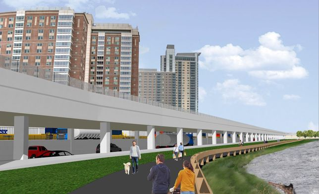 Real Estate-Friendly Design Chosen For Mass. Pike Overhaul In Allston
