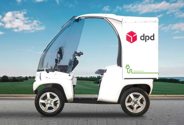 DPD Ireland is introducing electric vehicles for delivery in Dublin city centre