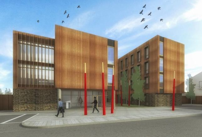 Artist's impression of the 145-bed student accommodation scheme on Farranlea Road, Cork