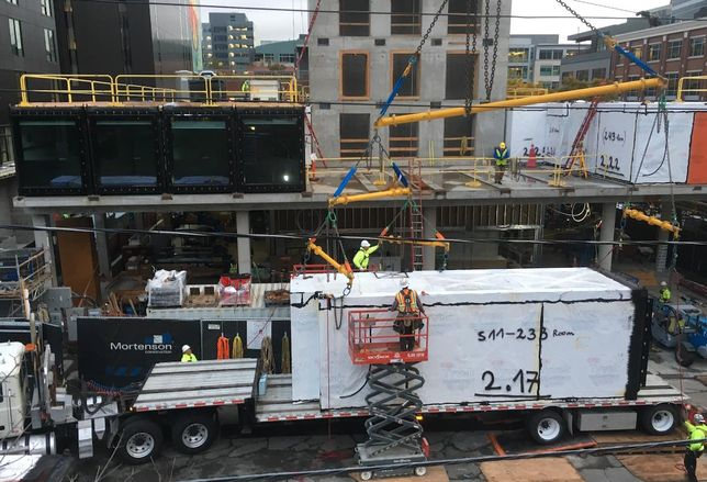 Mortenson Takes Its First Steps Into Modular Hotel Construction