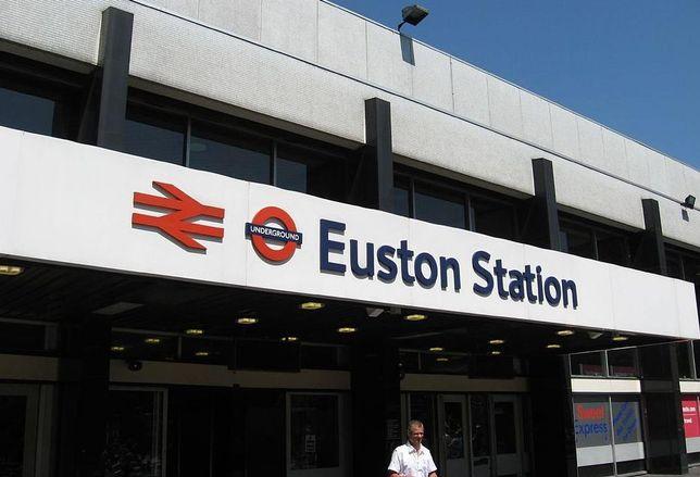 railway london Euston Station hs2