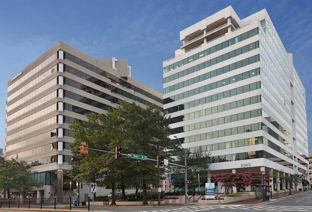 The Station Square office complex in Silver Spring