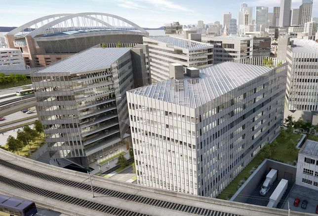 1.2M SF SODO Office/Retail Campus Gains Permit Approval