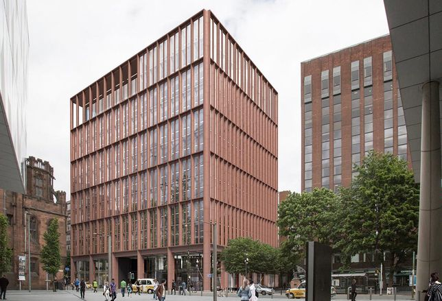 125 Deansgate Manchester office offices designed glen howell architects developer Worthington