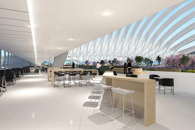 Spanish architect Santiago Calatrava's design for Chicago's O'Hare Global Terminal