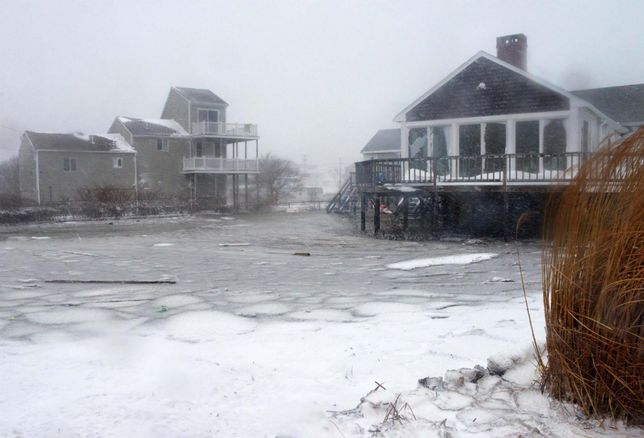 Rising Seas Are Lowering Massachusetts Home Values