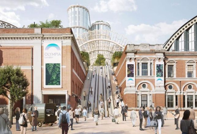 £700M Heatherwick-Designed Olympia Scheme Set For Approval