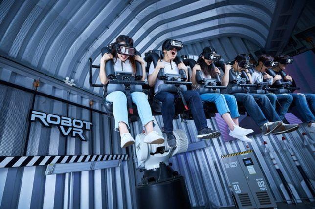 VR ride