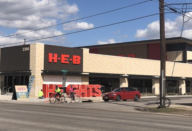 New H-E-B In The Heights To Improve Shepherd Drive's Appeal