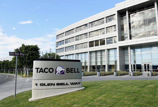 Taco Bell headquarters at 1 Glen Bell Way in Irvine