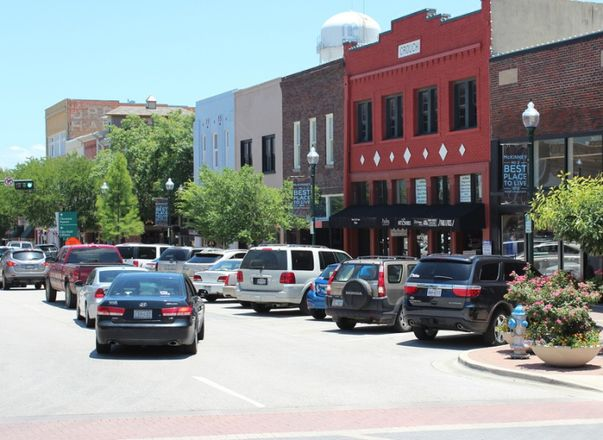 Historic Downtown McKinney Square