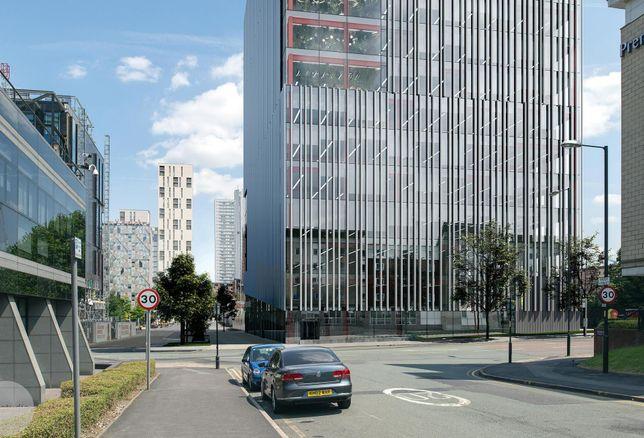 First Street Manchester plot 9a premier inn
