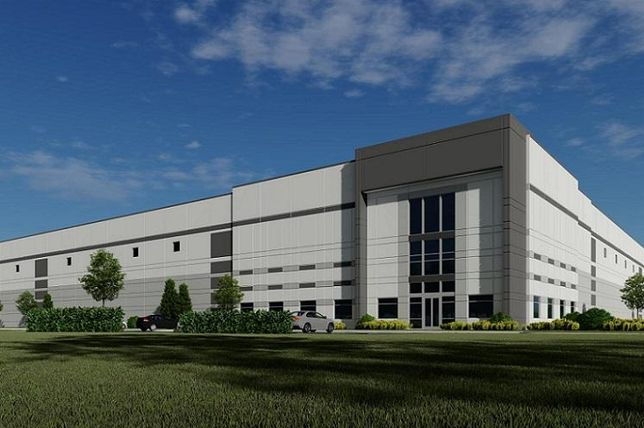 Ryan Companies' plan for a 400K SF spec at Pullman Crossings