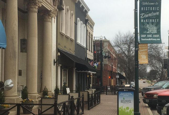 Historic Downtown McKinney is the city's main attraction.