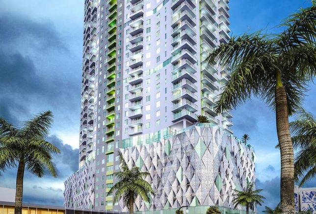Rendering of 2000 Biscayne Blvd., an upcoming project in Miami from Kushner Cos.