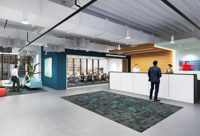 Carr Workplaces at The Bloc in downtown Los Angeles