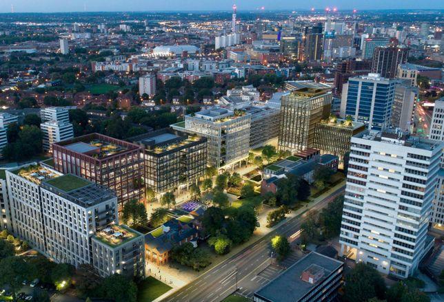 new garden square birmingham edgbaston U+I calthorpe estate offices residential march 2019