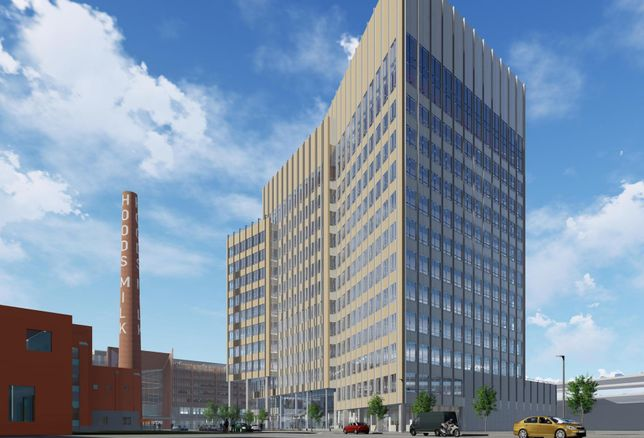 Hood Park Master Plan, 232-Foot Office Tower Approved
