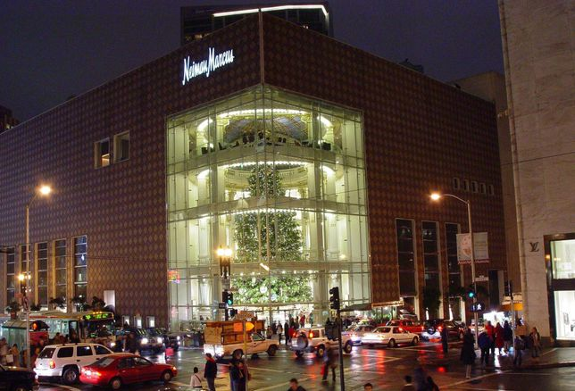 A Neiman Marcus store in San Francisco