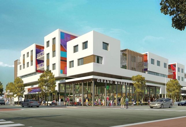 Nonprofit Abode Communities is developing Chavez Fickett, a 60-unit affordable housing project in Boyle Heights, under Los Angeles' Transit Oriented Communities program.