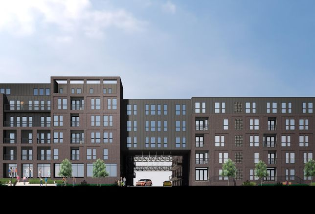 The Cooper Multifamily Development in Fort Worth