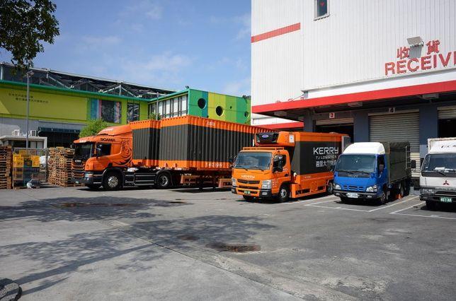 Trucks Costco Neihu Warehouse