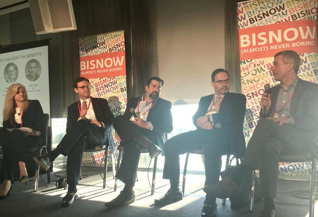 Bisnow Opportunity zone panel