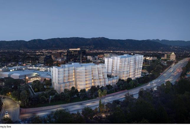 Warner Bros. will expand into two Frank Gehry-designed office buildings adjacent to its main lot in the Burbank Media District.