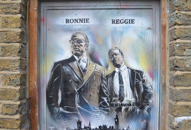 ronnie and reggie kray gangsters