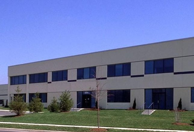 The industrial building at 6401 Manor Road in Beltsville