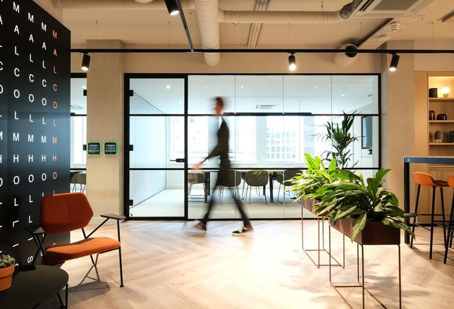Malcolm Hollis office fit out Manchester lexicon building st peters square green breeam