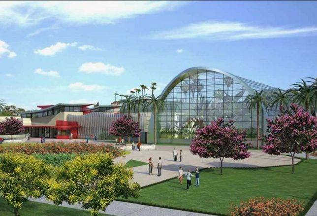 Rendering of Butterfly Palladium in Buena Park