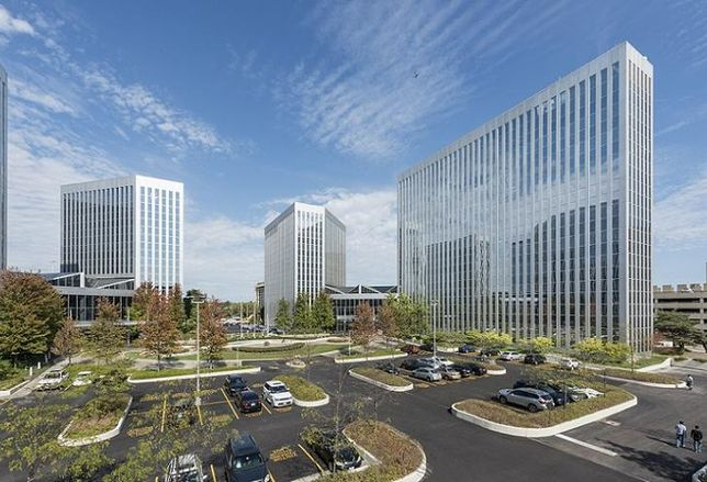 Suburban Office Buildings Getting Connected