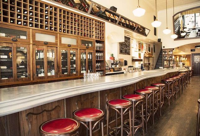 One of Vin Sur Vingt's New York City wine bars