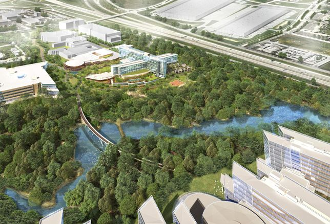 $250M Hospitality Center With 600-Room Hotel To Anchor American Airlines Campus