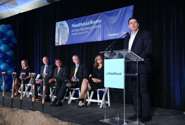 MassMutual's Seaport Tower Will Also Be New MassChallenge HQ